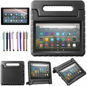 """Handle Kids Stand Cover Case + Screen Protector For Amazon Fire HD 8"""" Tablet"""