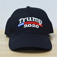 Trump 2020 Flag President Make America Great Again MAGA Baseball Cap Hat Black++