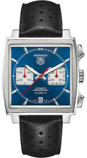 CAW2111.FC6356 | TAG HEUER MONACO | BRAND NEW & AUTHENTIC BLUE DIAL MEN'S WATCH