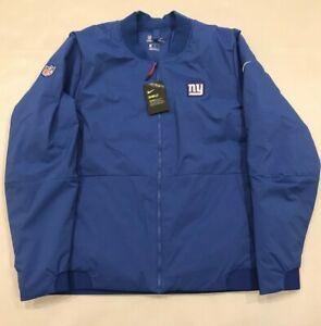 NFL Nike Shield New York Giants Men's Size Large L / XL Bomber Jacket 943976-495