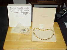 Veronese Sterling 18K Gold Vermeil Pearl & Bead Necklace Bracelet Set New Boxed!