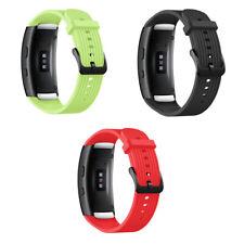 Cinturino silicone SPORT LINES fibbia metallo specifico x Samsung Gear Fit 2 Pro