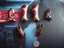 HOT TOYS 1/6 IRONMAN 3 WORKSHOP TONY STARK -  LEG ARMOR LOT -- US SELLER