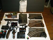 Vintage Lionel train track switch lot with controllers & MISC PARTS