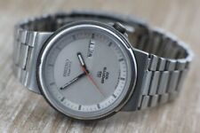 Vintage Seiko SQ Sports Day Date 5H23-6020 Mens Watch