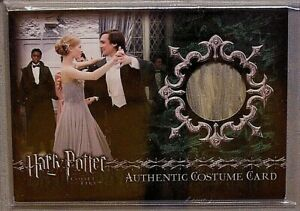 Harry Potter-Clemence Posey-Fleur Delacour-GOF-Screen Used-Movie-Costume Card-C6