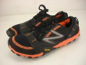 Men's 9 D M New Balance 10v1 MT10BO2 Minimus Running Shoes Black Orange Barefoot
