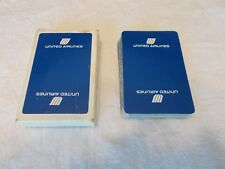 United Airlines Playing Cards  Vintage