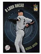DEREK JETER    2001 TOPPS,  A LOOK AHEAD #LA2   NEW YORK YANKEES