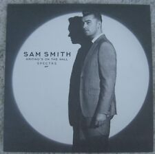 """Sam Smith - Writing's On The... - James Bond """"Spectre"""" OST Picture Sleeve PS 7"""""""