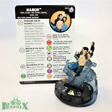 Heroclix Captain America and The Avengers set Namor #069 Chase figure w/card!
