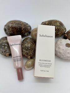 Sulwhasoo Bloomstay Vitalizing Eye Cream 0.10 fl oz NEW IN BOX travel size