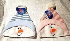 Toys R Us Children's Baby Boy Girl Snowman Winter Knit Hat Beanie Cap