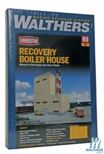 Walthers 933-3901 Recovery Boiler House - Superior Paper Kit HO Scale Train