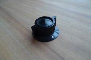 Knob Instrument Knob Vintage Radio Amp Brass insert  Stockli / Bulgin