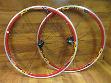ROLF VECTOR COMP AERO PAIRED BLADED SPOKE 700C CLINCHER 8 9 10 SPEED WHEEL SET