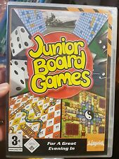 Junior Board Games (NEW SEALED) PC GAME - FREE POST