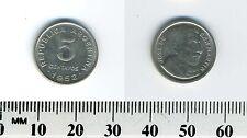 Argentina 1952 - 5 Centavos Copper-Nickel Coin - Jose de San Martin