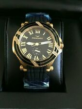 Aquaswiss Black/gold watch