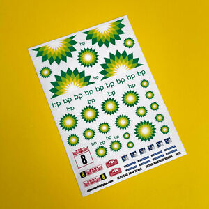 SLOT CAR 1/32nd scale Detail Masters 'Vintage Classic Race Rally' stickers SET 1