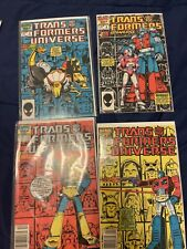 Transformers Universe. Comic Lot 1-4. Great Condition.