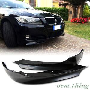 #AU 2009-2011 Fit FOR BMW E90 3-Series LCI OE Bumper Front Lip Splitter Unpaint