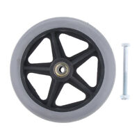 Durable Wheelchair Front Castor Wheels Replacement Wheel Part Tool 6/7/8inch