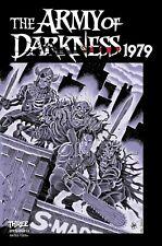 PRESALE ARMY OF DARKNESS 1979 #3 TMNT HOMAGE FOC BONUS HAESER COV L NM 11/17/21
