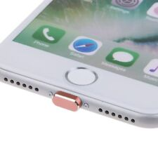 Earphone Jack & Charger Port Anti Dust Plug Caps for iPhone7/7Plus 8/8Plus/ X