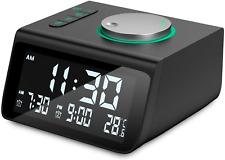 Digital Alarm Clock, Dekala Small Alarm Clocks Radio, With Fm Radio, Dual Alarm,