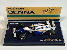 1 43 Minichamps Williams Renault Fw16 Pacific GP Senna 1994