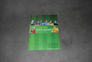 2012 Austn. Legends  of Football - Aust. Post book
