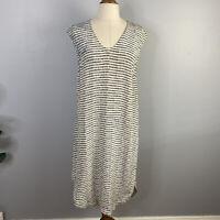 THE DREAMER LABEL silk leopard print Short sleeve dress sz 1