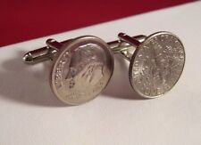 Choose Your Year Special Order Wedding Anniversary Cufflinks Tin Dimes