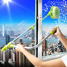 Telescopic High-rise Window Cleaning Glass Cleaner Brush for Washing Windows New