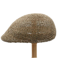 Men Women Straw Newsboy Cap Ivy Hat Ascot Sunhat Cabbie Summer Beach 7 1/8-7 1/4