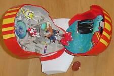 POWER RANGERS LOST GALAXY DX RED GALAXY RANGER MICRO PLAYSET MORPHER MEGAZORD