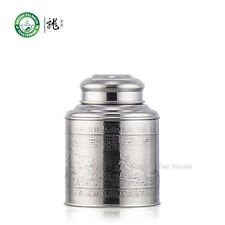 Small Size Stainless Steel Canister Caddy Tea Container With Double Lid 300ml