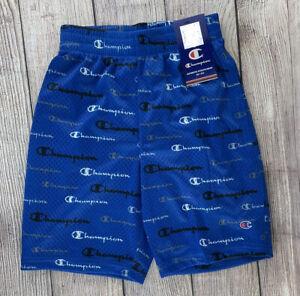Champion Athletic Shorts Boys Size 10/12 - Blue - New