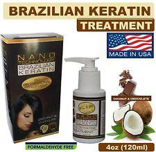 Keratina Brasileña Tratamiento Sin Formol para Cabello Medio Rizado 4oz