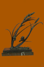 Limited Edition Hot Cast Dove Love Bird Bronze Masterpiece Statue Marble Base