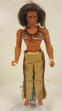 """1978 Mattel """"How The West Was Won"""" LONE WOLF Indian Action Figure Nakoma Big Jim"""