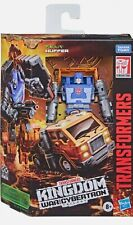 Transformers Kingdom Deluxe Huffer War for Cybertron New WFC Not Mint