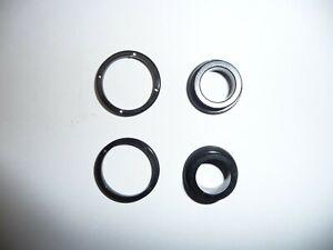 Novatec D771 15mm end cap kit for screw-in hubs