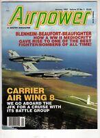 Airpower Airplane Magazine Jan 1997 Blenheim Beaufighter Beaufort Air Wing 8