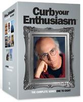 Curb Your Enthusiasm: Series 1-8 DVD (2012) Larry David cert 18 17 discs