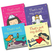 Usborne That's Not My... Girl Collection by Fiona Watt, 4 Books, RRP £23.96, NEW