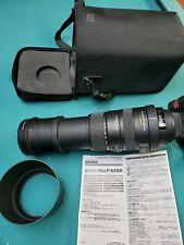 SIGMA APO 150-500mm F5-6.3 DG OS HSM AF w/ case &Hood