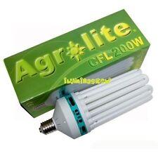 Bombilla Bajo Consumo CFL 200W E40 Luz Blanca 6400K Crecimiento AGROLITE