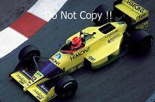 Pierre-Henri Raphanel Coloni FC88 Monaco Grand Prix 1989 Photograph 1